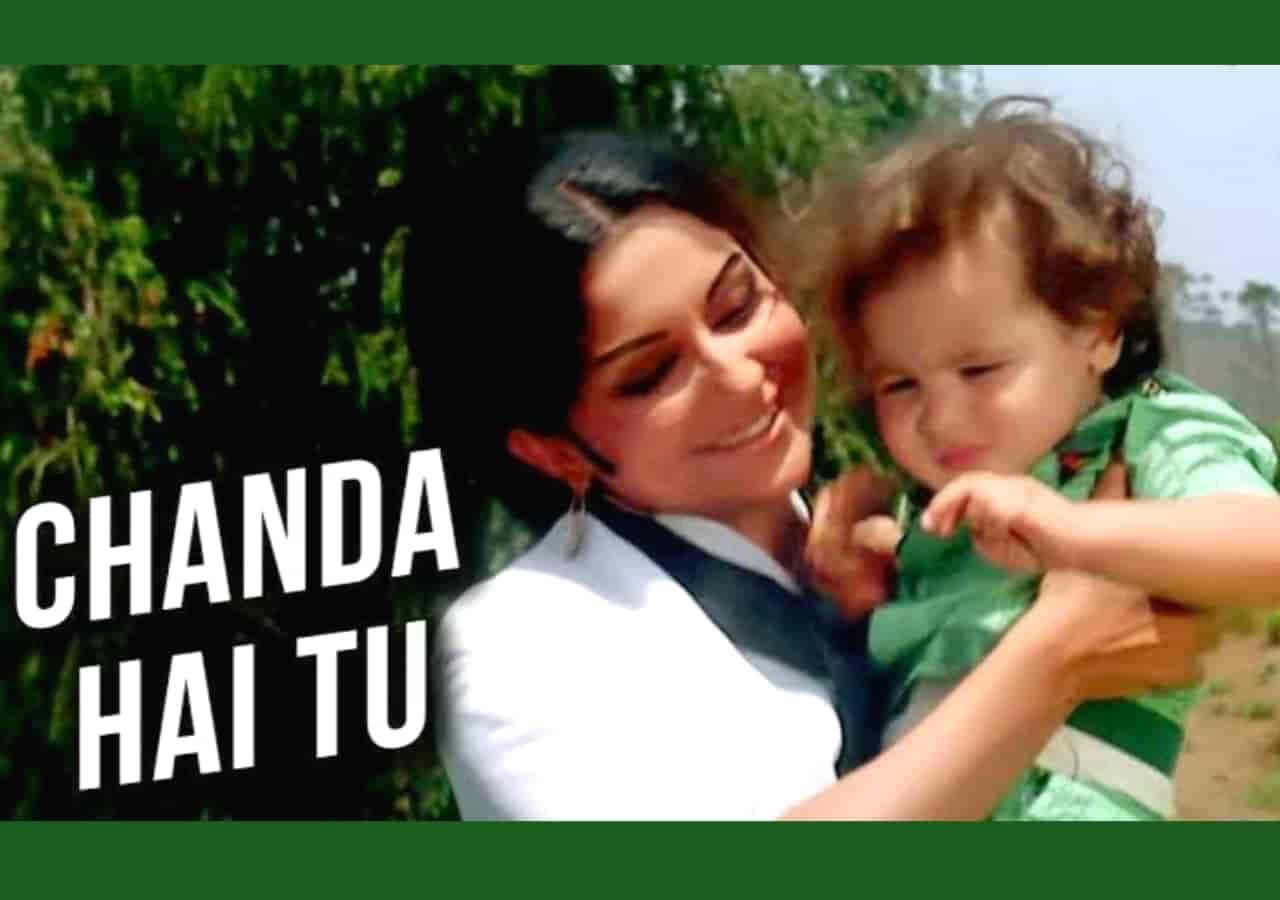 Chanda Hai Tu Hindi Song Lyrics, Sung By Lata Mangeshkar.
