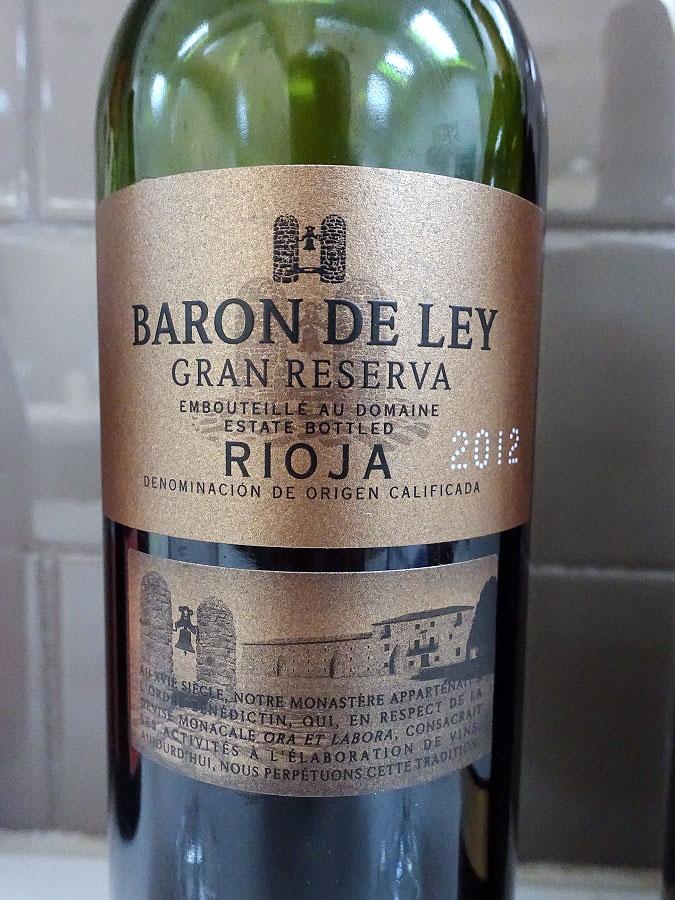 Barón de Ley Gran Reserva 2012 (91 pts)