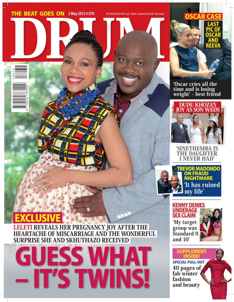 AFRONEVISM ENTERTAINMENT: Leleti Khuma Gave Birth to twin ...