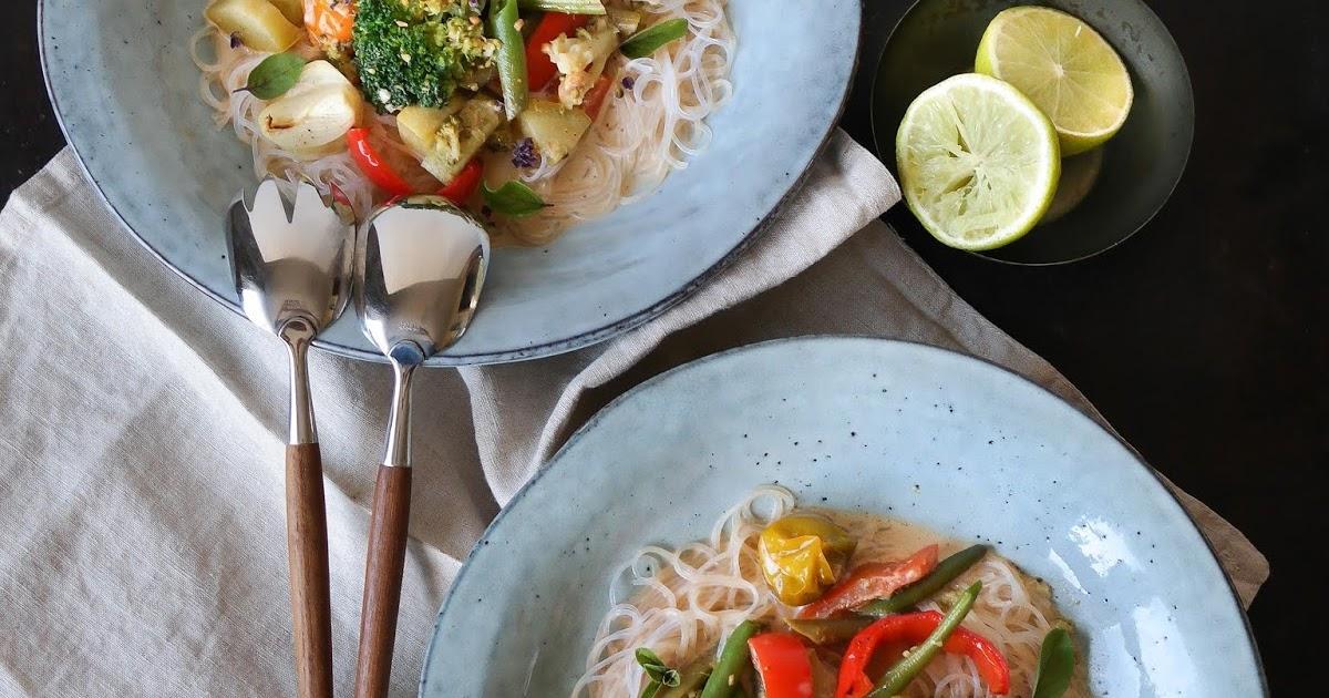 Thai-Curry mit Röstgemüse