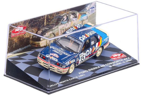 collezione rally monte carlo Ford Sierra Cosworth 4x4 1991 Malcolm Wilson - Nicky Grist 1:43