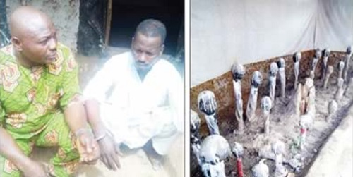 Ritual Killers' Den Uncovered In Kwara... suspect opens up