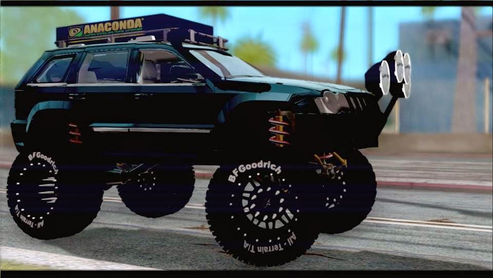 gta venezolano mods jeep grand cherokee 2007 4x4 off road by camilo. Black Bedroom Furniture Sets. Home Design Ideas
