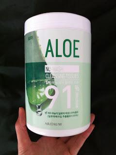 Aritaum aloe cleansing tissue