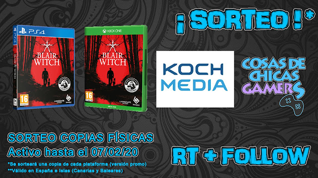 Sorteo copia física Bruja Blair en PlayStation 4 y Xbox One