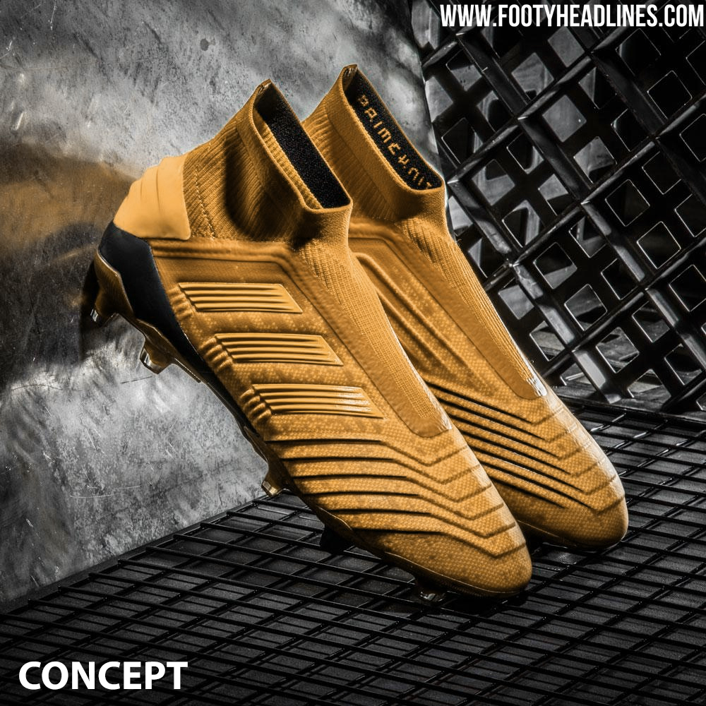ad3c9b12e Adidas To Release Non-Limited Edition Gold Adidas Predator 19 Boots ...