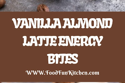VANILLA ALMOND LATTE ENERGY BITES
