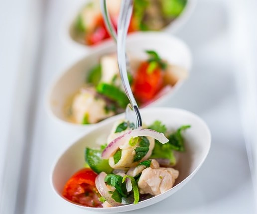 ceviche! #appetizers #healthy