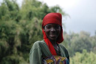 Une Rwandaise