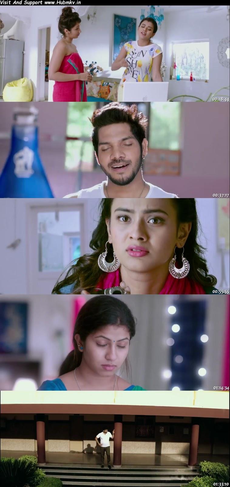 Dulha Wanted (Naanna Nenu Naa Boyfriends) 2020 480p Dual Audio In [Hindi English]