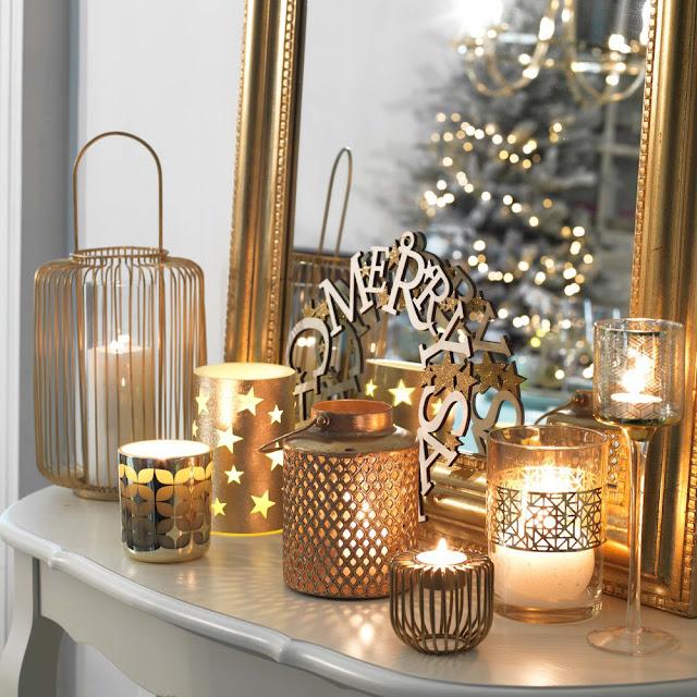 Blog Achados de Decoração, decoração de Natal de última hora