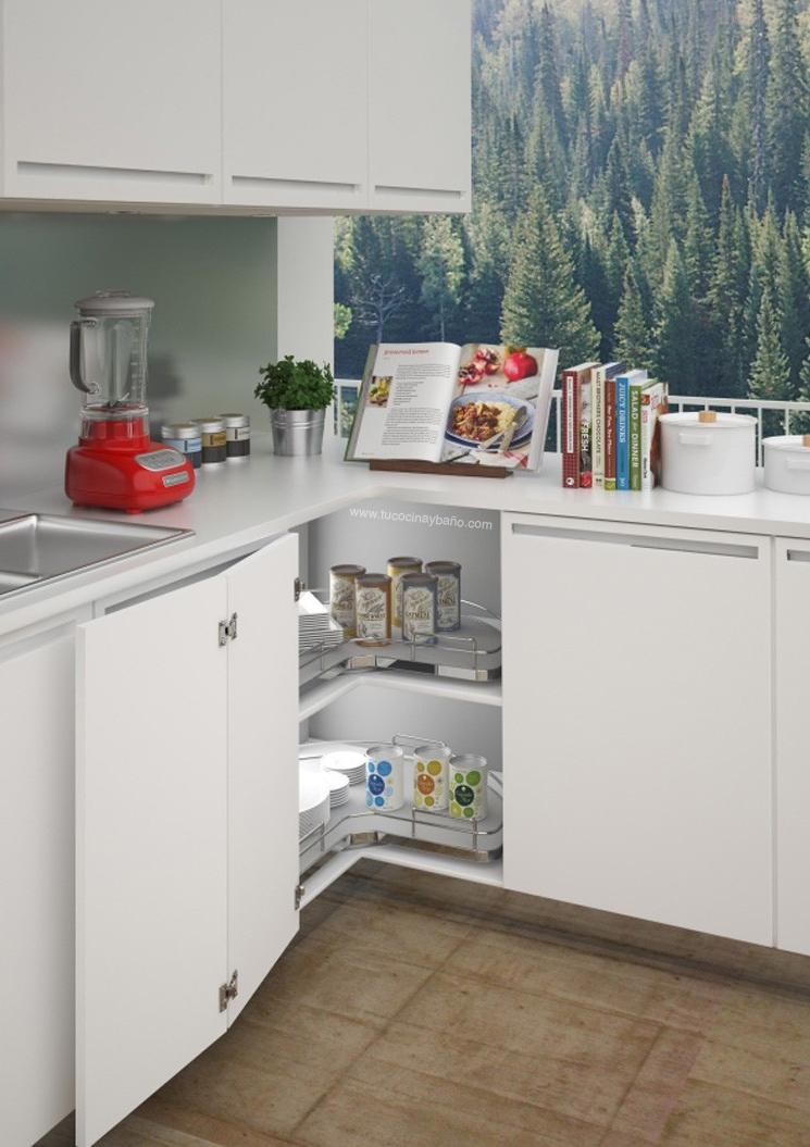 Excepcional Mueble Esquinero Cocina Imagen - Ideas para el hogar ...