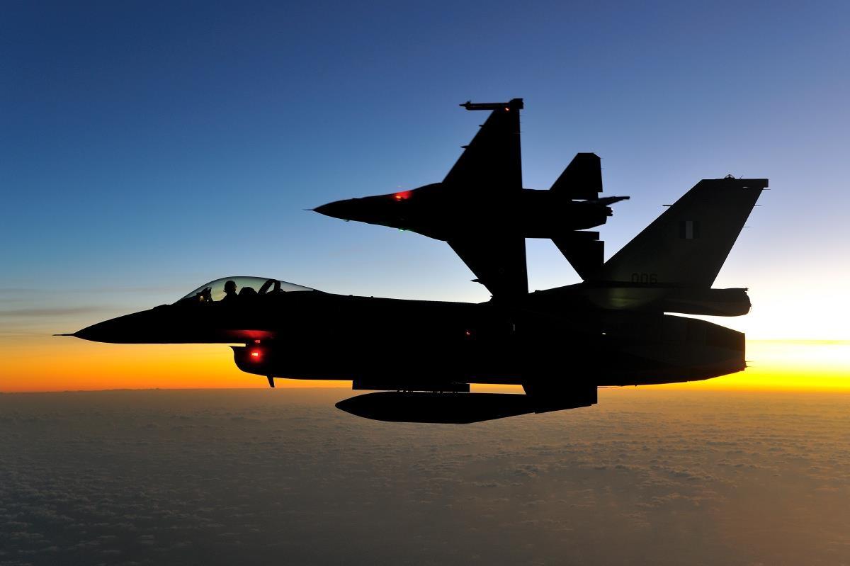 Η αιφνιδιαστική νυχτερινή αποστολή της ελληνικής πολεμικής αεροπορίας
