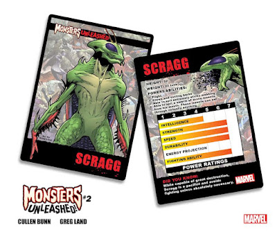Marvel Comics Monsters Unleashed