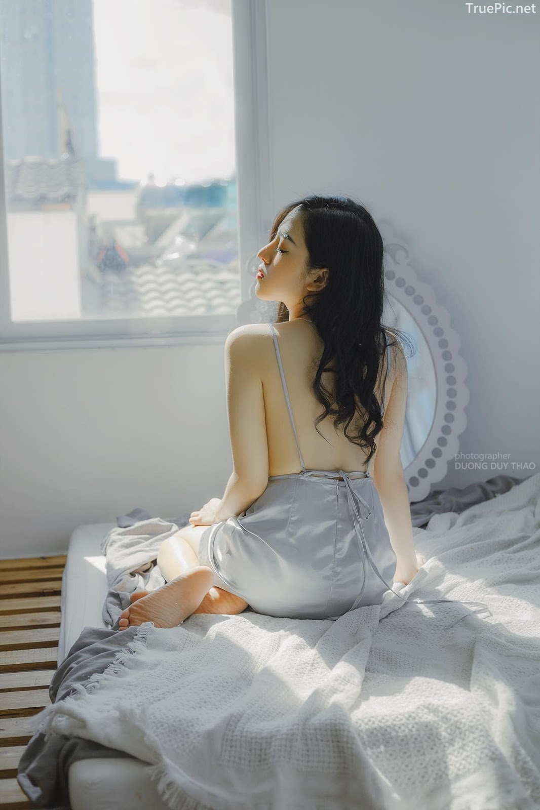 Vietnamese beautiful model Truong Huynh Nhu - Wait for the sun - Picture 7