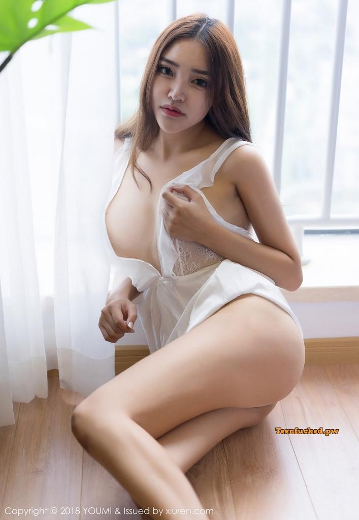 YouMi Vol.232 MrCong.com 010 wm - YouMi Vol.232: Người mẫu 拉菲妹妹 (45 ảnh)