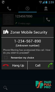 Zoner Mobile Security Paid APK