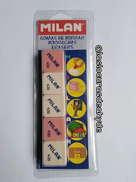 pack de gomas marca milan