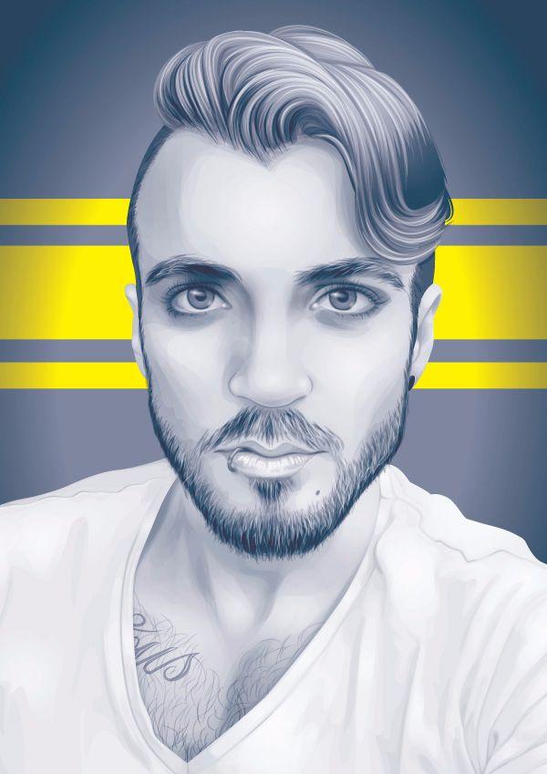 tutorial vector rambut corel draw