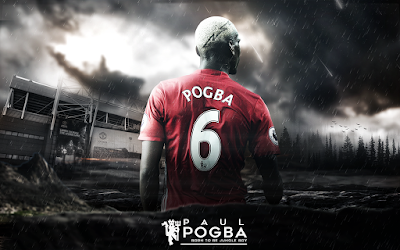 French footballer Paul Pogba hd wallpaper images
