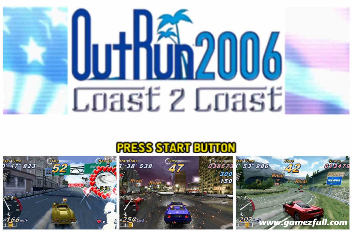 OutRun 2006 Coast 2 Coast PSP Full Español