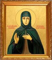 святая целительница Евдокия