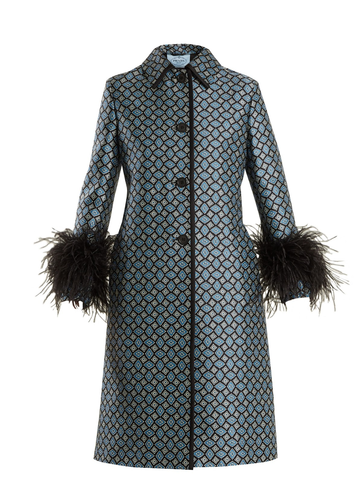 5f82c2443 Gucci pintucked butterfly-embellished belt coat, at matchesfashion.com.