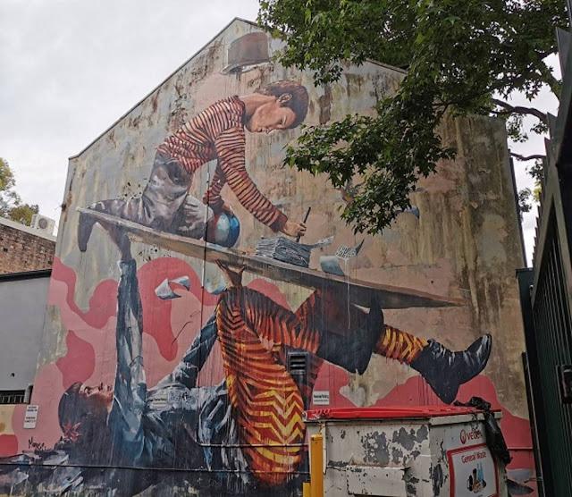 Woolloomooloo Street Art | Fintan Magee