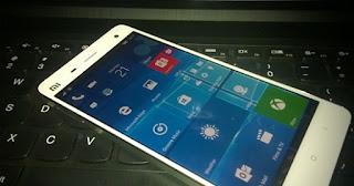 Cara Install Windows 10 mobile di Xiaomi Mi4 LTE