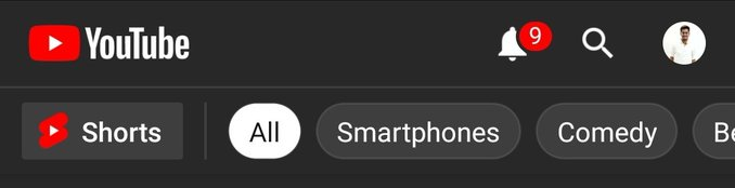 YouTube Shorts In iOS Device
