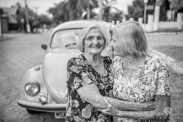 gémeas celebram 100 anos