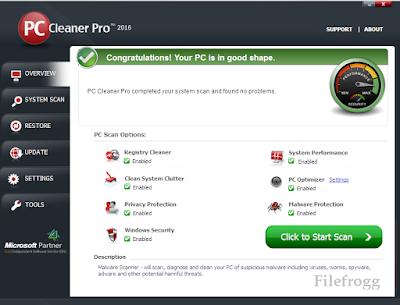 PC Cleaner Pro 2016 Full License Key