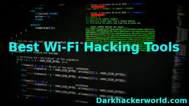 Best Wi-Fi hacking tools