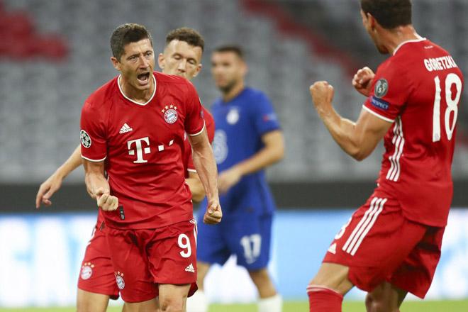 """Bayern đại thắng Chelsea: 27 bàn/6 trận, xứng danh """"Hung thần"""" thành London"""