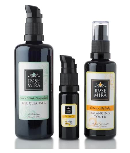 natural skincare, organic skincare, rose mira organic skincare, vegan product, cruelty free products