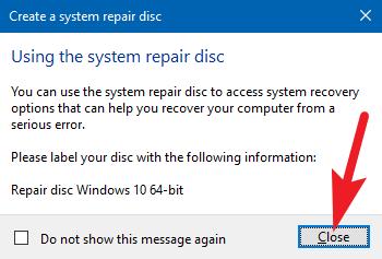 close window repair disc
