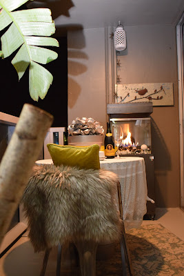 Outdoor furniture, centerpieces, Gas Fireplaces, Outdoor area rugs, By: JoFer Interiors