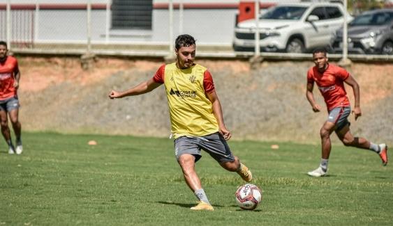 Vitória se prepara para enfrentar o Inter na 3ª fase da Copa Brasil