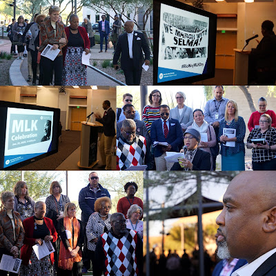 collage of images from Rio MLK Celebration