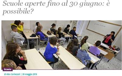 http://www.ilfattoquotidiano.it/2016/05/30/scuole-aperte-fino-al-30-giugno-e-possibile/2779995/