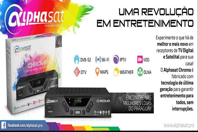 Alphasat Chroma - Todos Recursos 30/09/2016