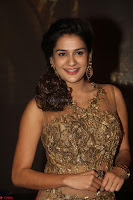 Jenny in brown transparent sleeveless anarkali dress at Shamanthakamani pre release function ~  Exclusive 046.JPG