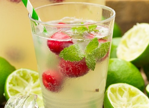 Method of action of green lemon and cherry syrup