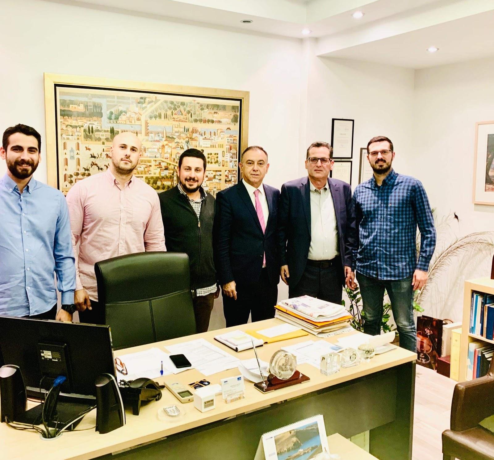 Συνάντηση Γεωπονικού Συλλόγου Λάρισας με τον Βουλευτή Λάρισας Χρήστο Κέλλα