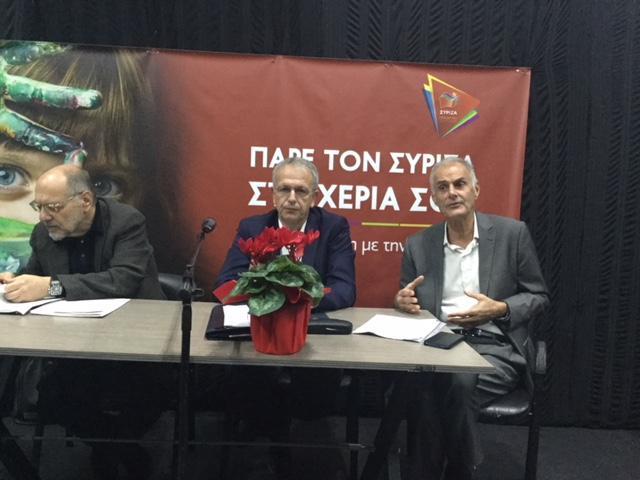 Γ. Γκιόλας: Μεγάλη προσέλευση  και γόνιμος διάλογος στην συνέλευση του ΣΥΡΙΖΑ  στο Κρανίδι