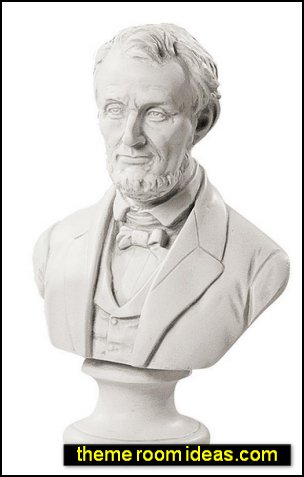 Abraham Lincoln American President Sculptural Bust