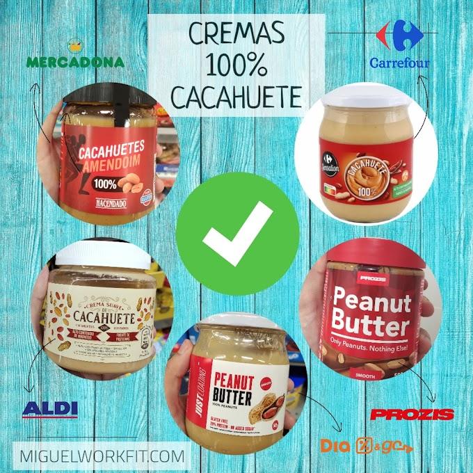 Cremas de cacahuete 100% cacahuete