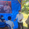 Anggota DPRD Takalar Fraksi Gerindra Tinjau Herai Baksin Presisi Polsek Polut
