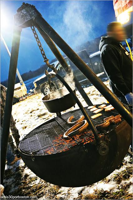 Puestos de Comida en la Old Newbury Bonfire 2018