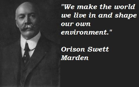 Orison Swett Marden quote 3